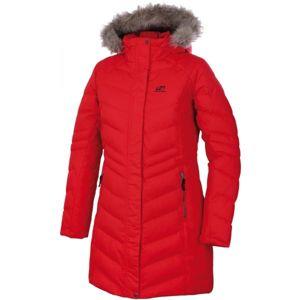 Hannah MAURICIA červená 38 - Dámský zimní kabát