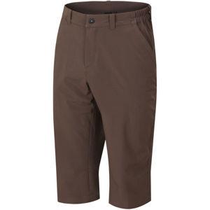 Hannah WHARTON hnědá S - Pánské 3/4 kalhoty