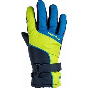 Head ASA modrá 5-7 - Dětské zimní rukavice
