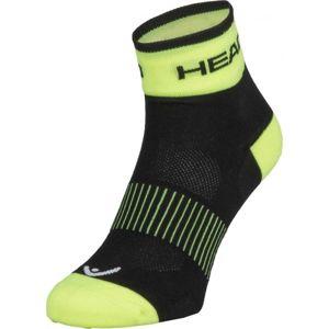 Head SOCKS YELLOW bílá 43/45 - Cyklistické ponožky