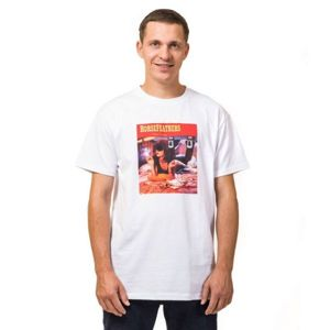 Horsefeathers WALLACE T-SHIRT bílá M - Pánské tričko