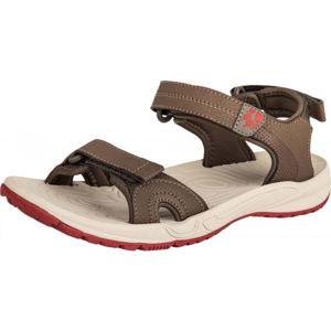 Jack Wolfskin LAKEWOOD CRUISE SANDAL béžová 7 - Dámské turistické sandály