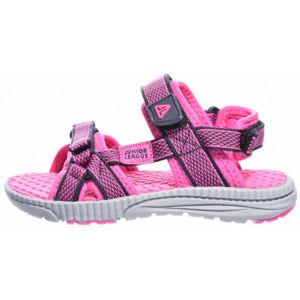 Junior League NOVA fialová 35 - Dětská letní obuv