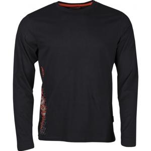 Kappa CINGLEV tmavě šedá S - Pánské tričko
