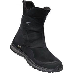 Keen WINTERTERRA LEA BOOT WP černá 6.5 - Dámská zimní obuv