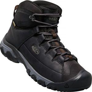 Keen TARGHEE LACE BOOT černá 12 - Pánská zimní treková obuv