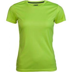 Kensis VINNI žlutá M - Dámské sportovní triko