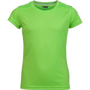 Kensis VINNI zelená 128-134 - Dívčí sportovní triko