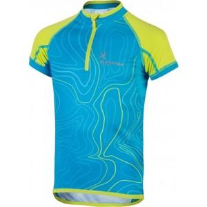 Klimatex ILAN modrá 146 - Dětský cyklistický dres
