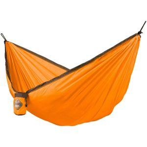 La Siesta COLIBRI SINGLE oranžová NS - Cestovní houpací síť