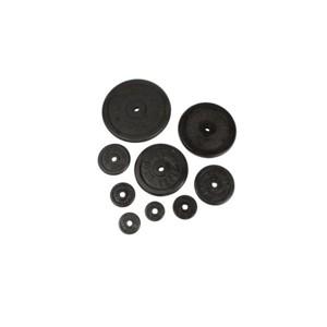 Laubr ZÁVAŽÍ ČERNÉ - 1 kg   - Závaží černé 1 kg - Laubr