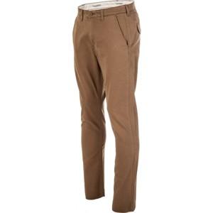 Lee CHINO BUTTER BRONZE hnědá 34/34 - Pánské kalhoty