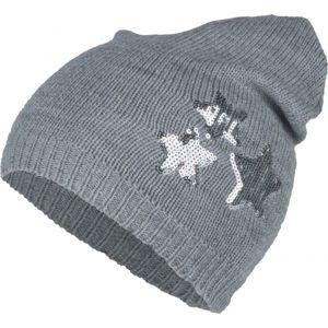 Lewro DORINKA  12-15 - Dětská pletená čepice