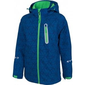 Lewro COOPER 116 - 134 tmavě modrá 116-122 - Chlapecká softshellová bunda