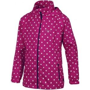 Lewro JOLKA 140 - 170 růžová 152-158 - Dívčí šusťáková bunda