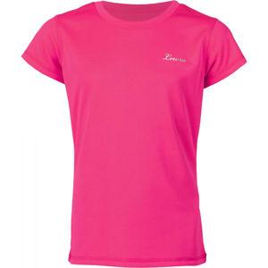 Lewro LEANDRA růžová 152-158 - Dívčí triko