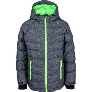 Lewro NIKA zelená 116-122 - Dětská zimní bunda