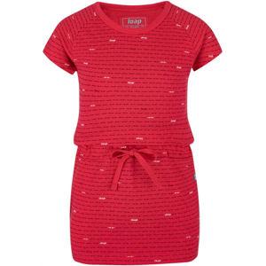 Loap BAULA růžová 158-164 - Dívčí šaty