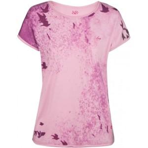 Loap BYBLOS růžová L - Dámské tričko