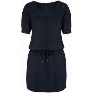 Loap NADYN tmavě modrá S - Dámské šaty