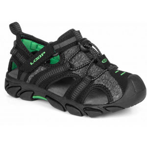 Loap INDER černá 25 - Dětské sandály