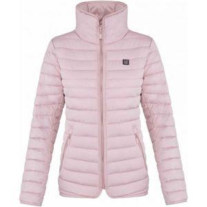 Loap JENNI růžová S - Dámská zimní bunda