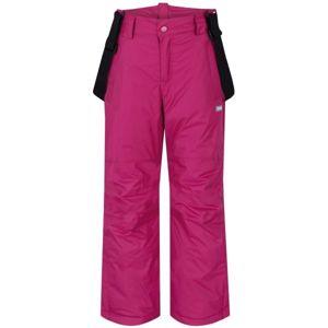 Loap FIDOR růžová 152 - Dětské zimní kalhoty