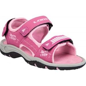 Loap PIMM růžová 34 - Dětské letní sandály