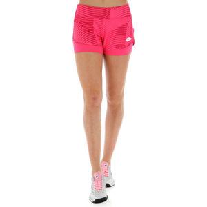 Lotto TOP TEN W II SHORT PRT PL růžová M - Dámské tenisové šortky