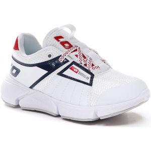 Lotto BREEZE LOGO CL L bílá 33 - Dětská volnočasová obuv