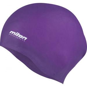 Miton CORAL fialová NS - Juniorská plavecká čepice