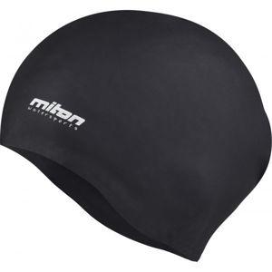 Miton CORAL černá NS - Juniorská plavecká čepice