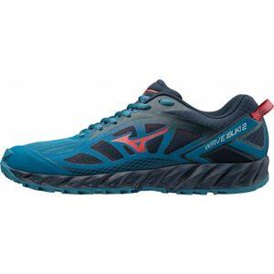 Mizuno WAVE IBUKI 2 modrá 10.5 - Pánská běžecká obuv