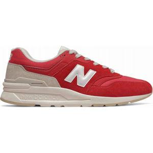 New Balance CM997HBS červená 8.5 - Pánská volnočasová obuv