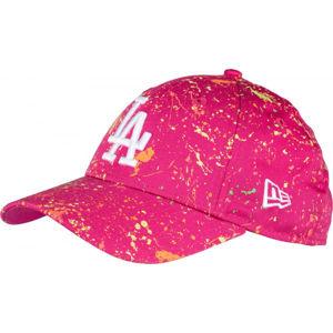 New Era 940K MLB KIDS PAINT PACK LOS ANGELES DODGERS růžová YOUTH - Dívčí kšiltovka