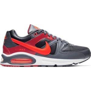 Nike AIR MAX COMMAND šedá 11 - Pánská volnočasová obuv