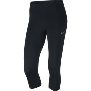 Nike POWER ESSENTIAL RUNNING CAPRI černá XS - Dámské sportovní legíny