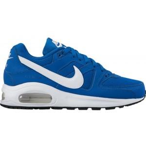 Nike AIR MAX COMMAND FLEX GS modrá 4.5Y - Chlapecká volnočasová obuv