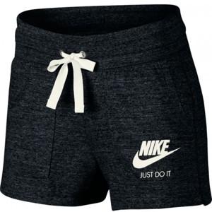 Nike NSW GYM VNTG SHORT W černá M - Dámské kraťasy