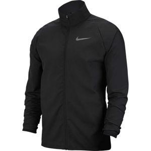 Nike DRY JKT TEAM WOVEN M černá S - Pánská tréninková bunda