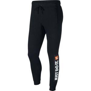 Nike NSW HBR JGGR FLC černá XXL - Pánské tepláky