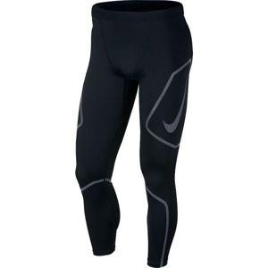 Nike TECH TIGHT FL GX černá M - Pánské běžecké legíny