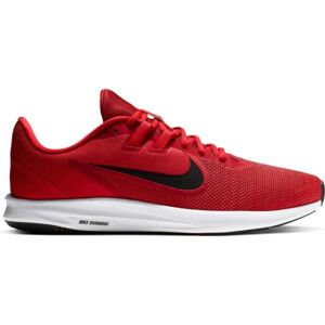 Nike DOWNSHIFTER 9 červená 11.5 - Pánská běžecká obuv