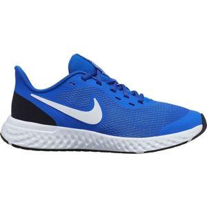Nike REVOLUTION 5 GS modrá 5Y - Dětská běžecká obuv