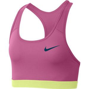 Nike SWOOSH BAND BRA NON PAD růžová S - Dámská sportovní podprsenka