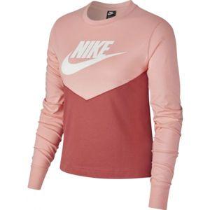 Nike NSW HRTG TOP LS W - Dámské triko s dlouhým rukávem