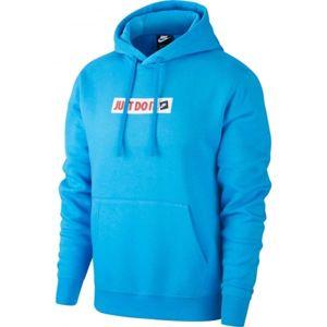 Nike NSW JDI HOODIE PO BB BSTR modrá XL - Pánská mikina