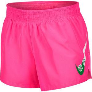 Nike ICNCLSH 10K SHORT GX W růžová S - Dámské běžecké šortky