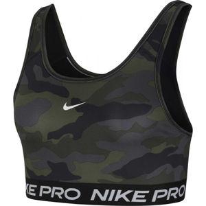 Nike SWOOSH BRA CAMO PRT  XL - Dámská sportovní podprsenka