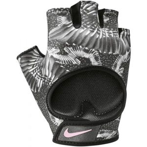 Nike GYM ULTIMATE FITNESS GLOVES šedá XS - Dámské fitness rukavice